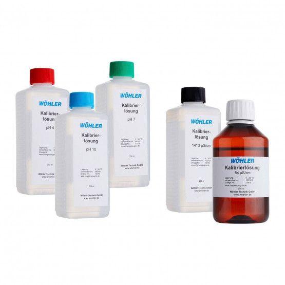 pH- und EC-Kalibrierlösungen