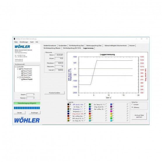 Wöhler M-Serie PC-Software