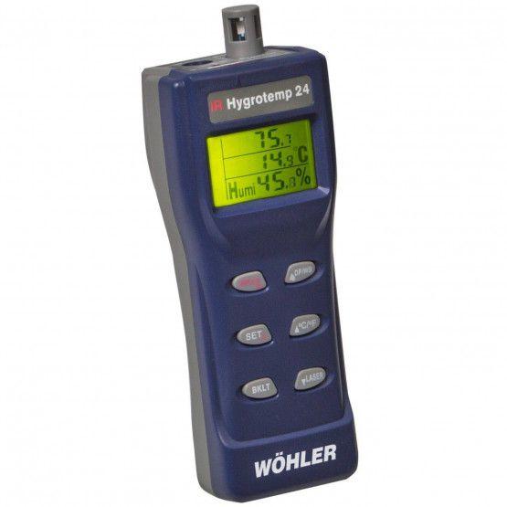 Wöhler IR Hygrotemp 24