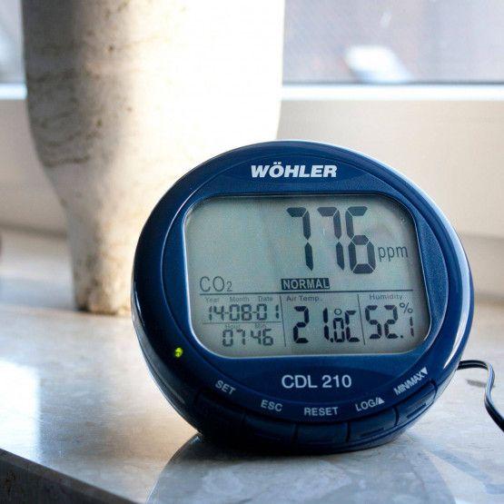Wöhler CDL 210 CO2-Datenlogger