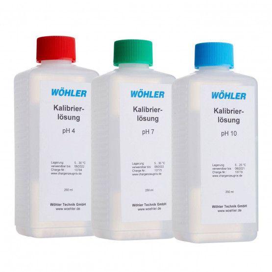 pH-Kalibrierlösung Zubehör-Set