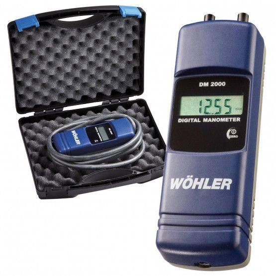 Wöhler DM 2000 Digitalmanometer-Set