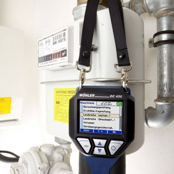 Wöhler DC 430 Druckmessgerät Gas