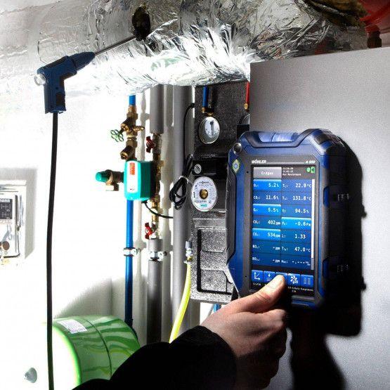 Wöhler A 550 Abgasanalysegerät
